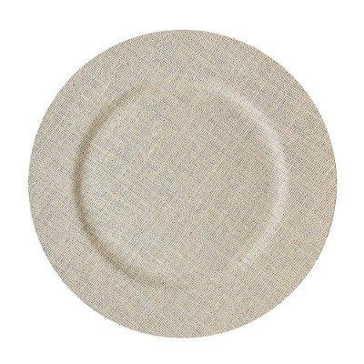 Conjunto Sousplast 33cm 2 peças - Rústico - Mimo Style