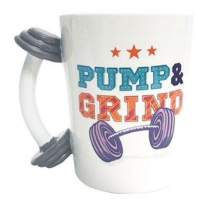 Caneca Fun 350ml - Pump & Grind - Dynasty