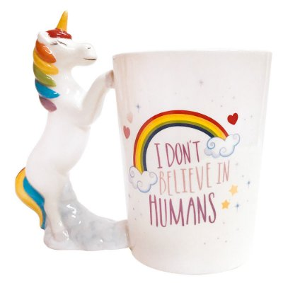 Caneca Fun 350ml - Unicórnio - Dynasty