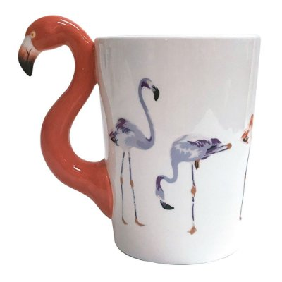 Caneca Fun 350ml - Flamingo - Dynasty