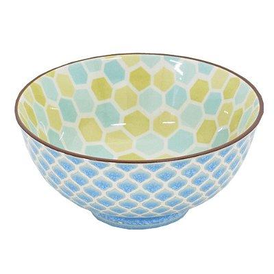 Bowl em Porcelana 280ml - Hexagonal - Full Fit