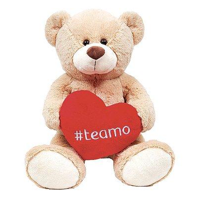 Pelúcia Urso Hashtag Te Amo - Buba