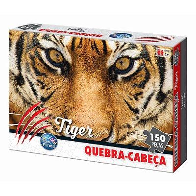 Quebra Cabeça Tiger - 150 Peças - Pais e Filhos