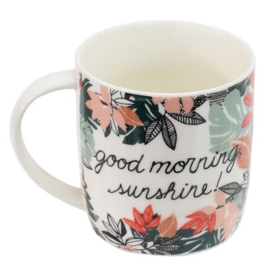 Caneca Free Life 340ml - Good Morning Sunshine - Dynasty