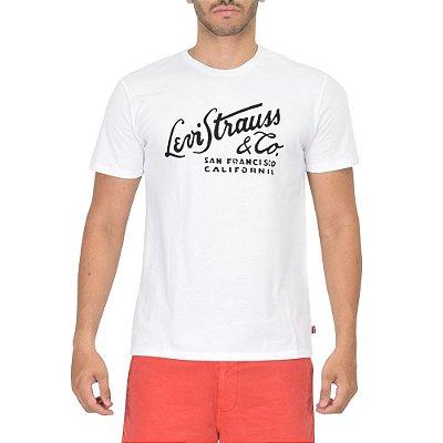 Camiseta Masculina San Francisco - Branca - Levis