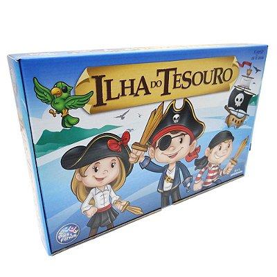 Jogo Ilha do Tesouro - Pais e Filhos