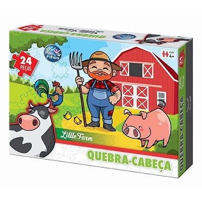 Quebra-Cabeça Little Farm - 24 Peças - Pais e Filhos