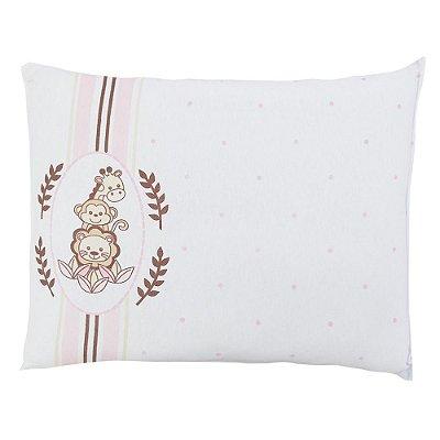 Travesseiro de Malha - Jungle Rosa - Colibri