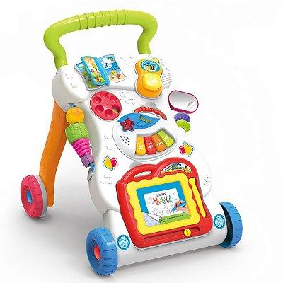 Andador Atividades Musical - Buba Baby