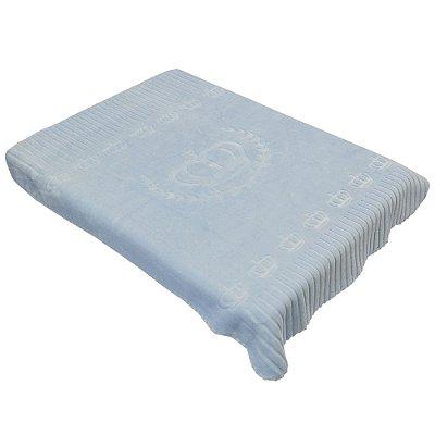 Cobertor Para Berço Exclusive - Unique Azul - Colibri