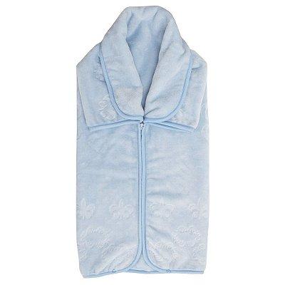 Baby Sac Em Relevo - Royale Azul - Colibri