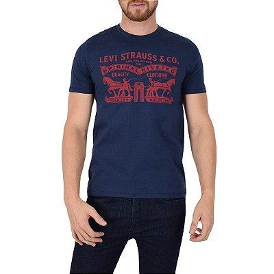 Camiseta Masculina Quality Clothing Marinho - Levis