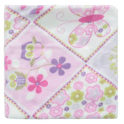 Cobertor Ultrasoft Infantil - Linha Berço - Borboletas - Parahyba