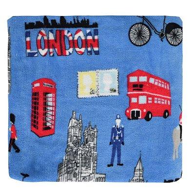 Cobertor Ultrasoft Infantil - Linha Berço - Londres - Parahyba
