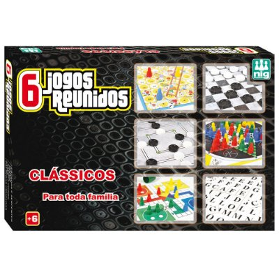 Conjunto de 6 Jogos Reunidos - Nig