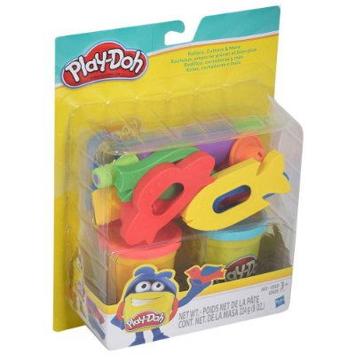 Conjunto Play-Doh - Rolos, Cortadores e Mais - Hasbro