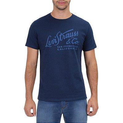 Camiseta Masculina San Francisco - Azul Escuro - Levis