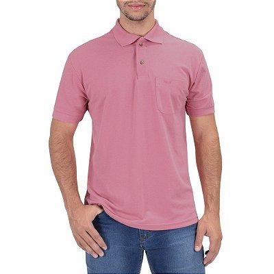 Camisa Polo Masculina Goiaba - Wayna