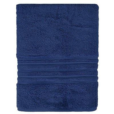 Toalha de Banho Maxy Fio Penteado - Azul Escuro - Karsten