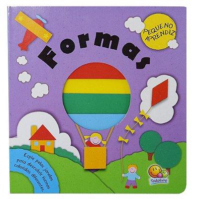 Livro Pequeno Aprendiz - Formas - Todolivro