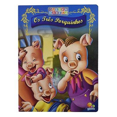 Livro Quebra-Cabeça - Os Três Porquinhos - Todolivro