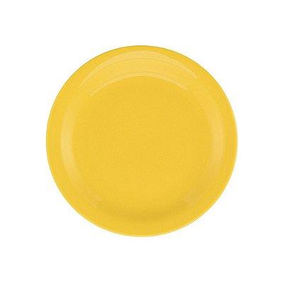 Prato de Sobremesa Floreal Yellow 20cm - Oxford