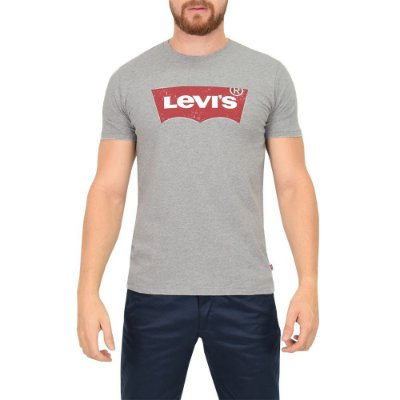 Camiseta Levis Originals Texturizada - Cinza - Levis