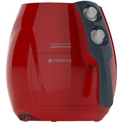 Fritadeira Colors Multifuncional Sem Óleo - Vermelha - Cadence