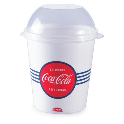 Pote Mix Para Pipoca 600ml - Coca-Cola - Plasútil