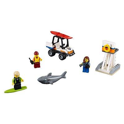 Lego City - Guarda Costeira - 76 Peças - Lego
