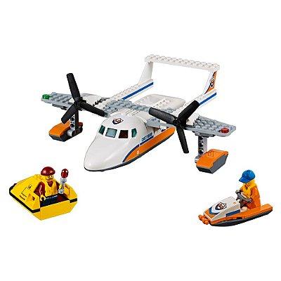 Lego City - HidroAvião de Resgate - 141 Peças - Lego