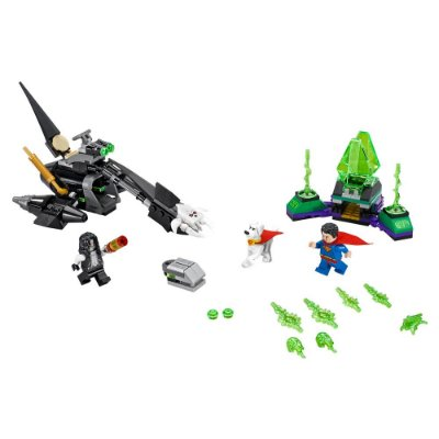 Lego Super Heroes - Superman & Krypto vc Lobo - 199 Peças - Lego