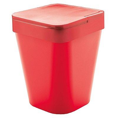 Lixeira Izzy 5L Vermelha - Ou