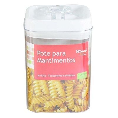 Pote Para Mantimentos Hermético - 1,7L - Wincy