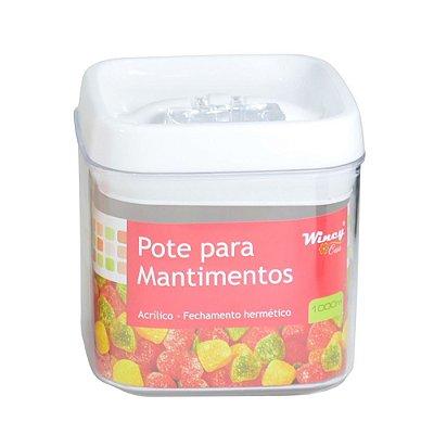 Pote Para Mantimentos Hermético - 1L - Wincy