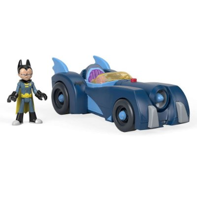 Imaginext Teen Titans Go - Robin & Batmóvel - Mattel