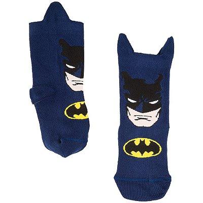 Meia Infantil Batman Marinho - Lupo