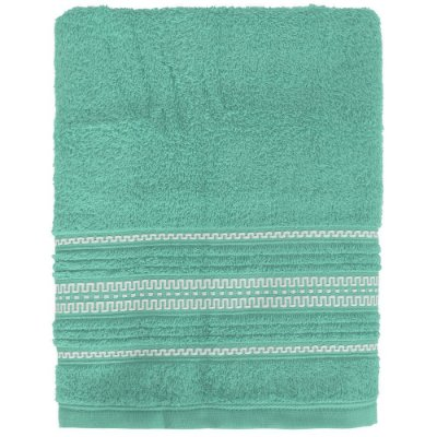 Toalha de Banho Royal Poly - Azul Turquesa - Santista
