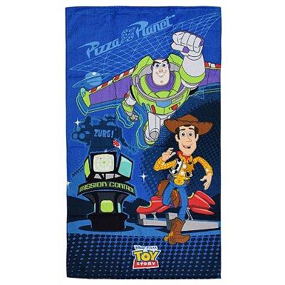 Toalha de Banho Aveludada Infantil - Toy Story - Döhler