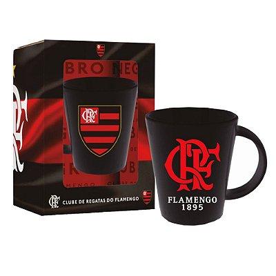 Caneca em Cerâmica 360ml - Flamengo - Brasfoot