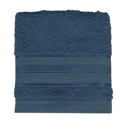 Toalha de Rosto Royal Knut - Azul Marinho - Santista