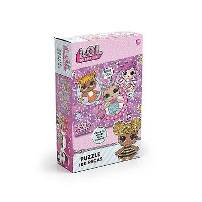 Puzzle L.O.L Surprise! - 100 Peças - Grow