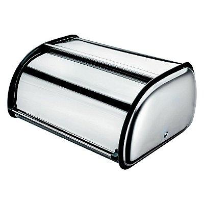 Porta Pão em Inox Médio - Euro Home