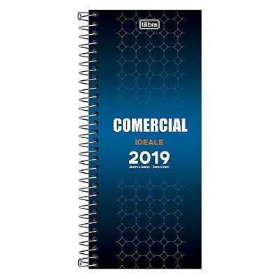Agenda Diária Comercial Ideale 2019 - Tilibra