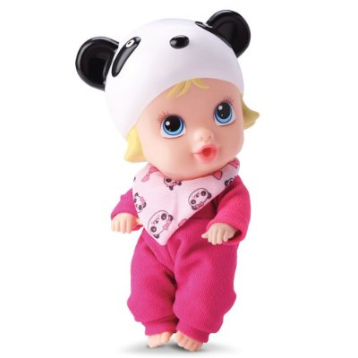 Boneca Little Dolls Soninho - Panda - Divertoys