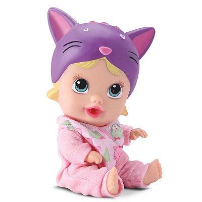 Boneca Little Dolls Soninho - Gatinho - Divertoys