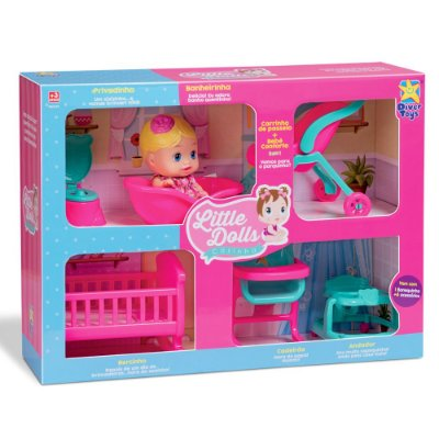 Little Dolls Casinha - Divertoys