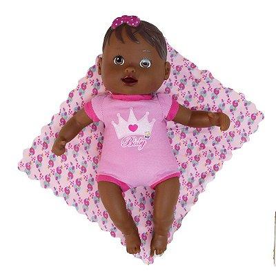 Boneca Nenenzinha Negra - Divertoys