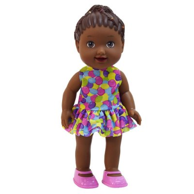 Boneca My Little Collection Doutora - Negra - Divertoys