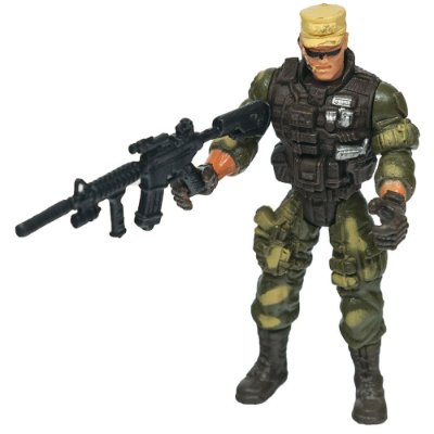 Boneco Comando Militar - Boné - Buba